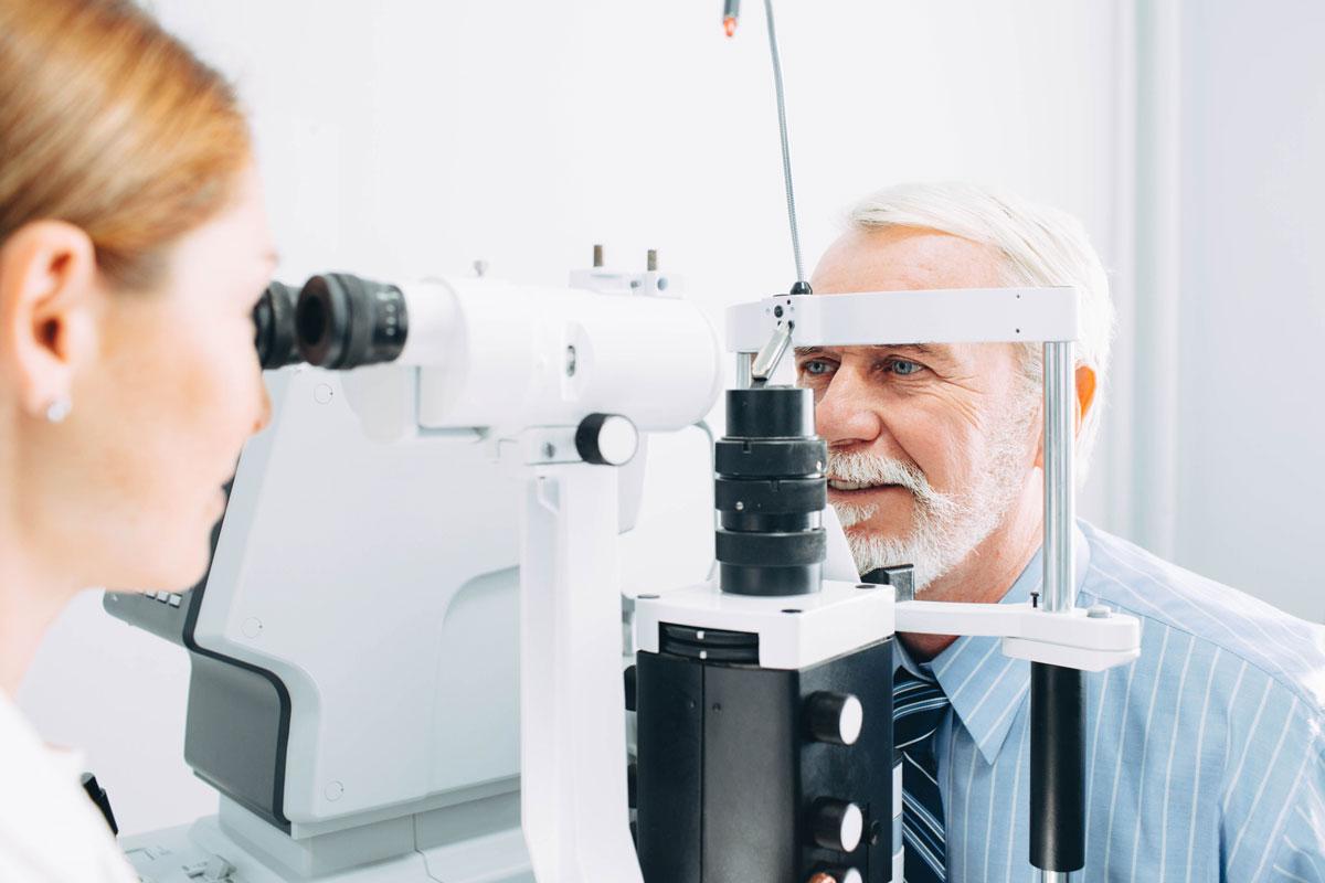 Privatsprechstunde Augenarzt Radebeul Praxis Brübach