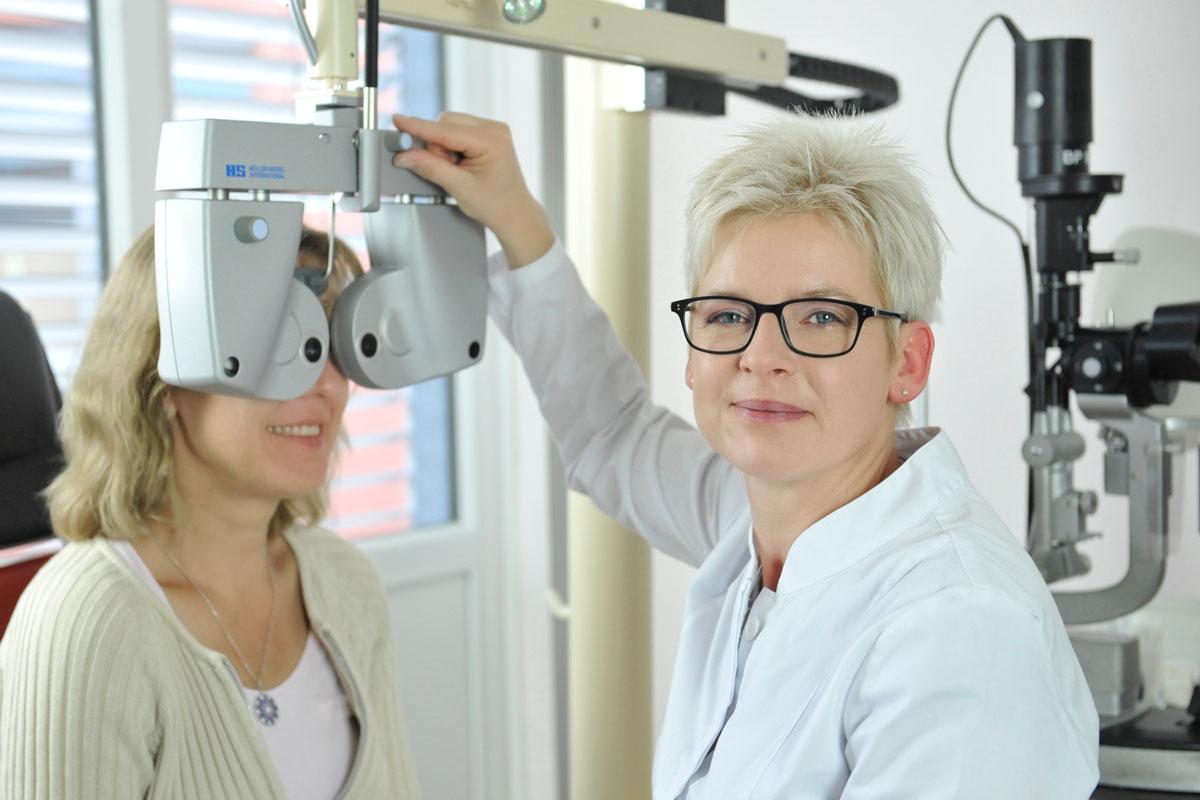 Augenarzt Radebeul Kerstin Brübach