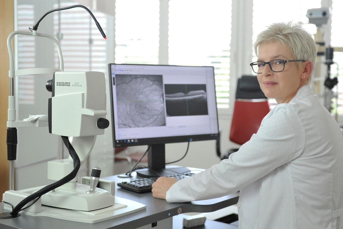 Moderne Diagnostik Augenarzt Radebeul
